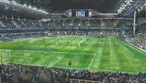 White Hart Lane Stadium 'Under the Lights' Fine Art Print - Tottenham Hotspur Football Club