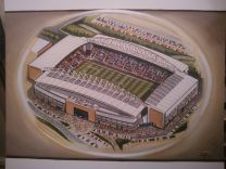DW Stadia Fine Art Print - Wigan Athletic Football Club
