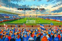 Windsor Park Stadium Fine Art Print - Linfield Football Club