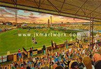York Street Stadium Fine Art Print - Boston United Football Club