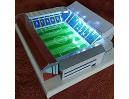 Handmade Stadium Models